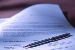 CAO-onderhandelingen Pen + papier