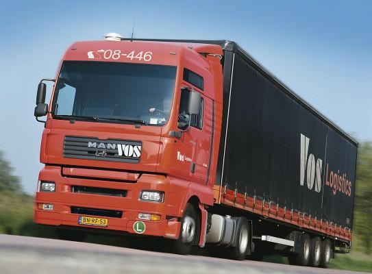 Vos Logistics met MAN TGA