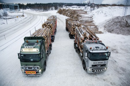 Volvo Trucks houttransport