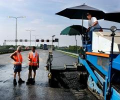 Aanleg snelwegen