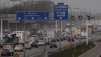 A1 verkeersdrukte