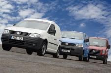 VW Bedrijfswagens standaard met roetfilter