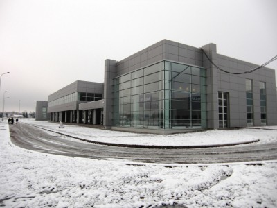 Volvo fabriek in Kaluga (Rusland)