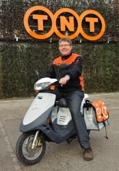 TNT Post test elektrische scooter