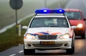 politieauto onderweg