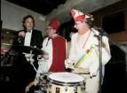 Camiel Eurlings met carnavalsband Ummer d'r Neaver