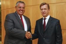 MAN Latin America: Roberto Cortes (l) en Hakan Samuelsson
