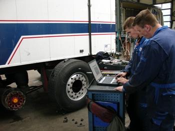 Truck-traileronderhoud