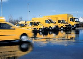Deutsche Post DHL wagenpark