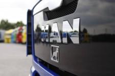 MAN logo grille