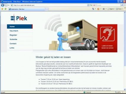 Piek Keur website