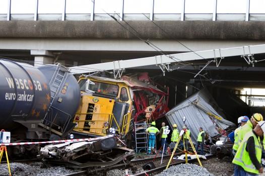 goederentrein crash 2009