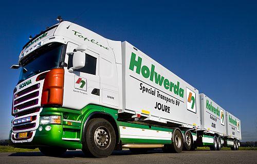 Scania LZV voor Holwerda
