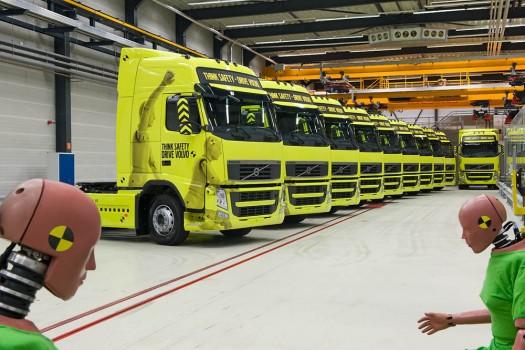 Volvo Safety Demos op een rij