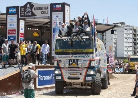 Marcel van Vliet 3e Dakar 2010