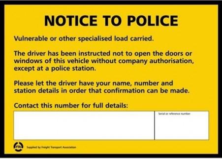 Vulnerable Load Card (UK)