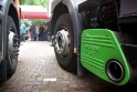 Uitlaat truck emissies