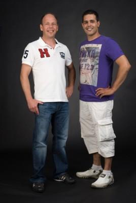 Links: Frank Huizing; rechts: Hans Walter Ebben