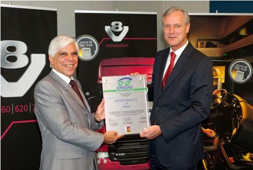 Scania erkend duurzaam