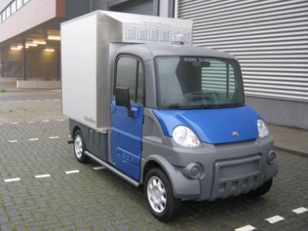 Zero Emissie Koelwagen Van Veba Ttm Nl