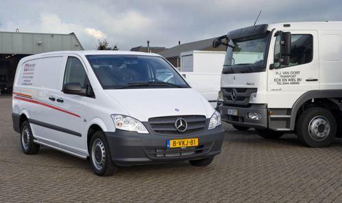 Van Oort Eck en Wiel kiest voor Mercedes