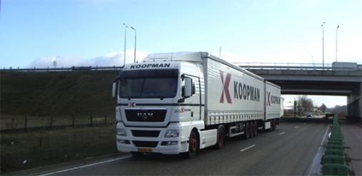 Koopman rijdt dualfuel LZV's