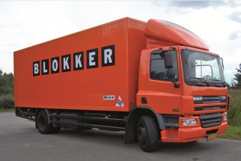 Blokker truck met Lisa2Alert
