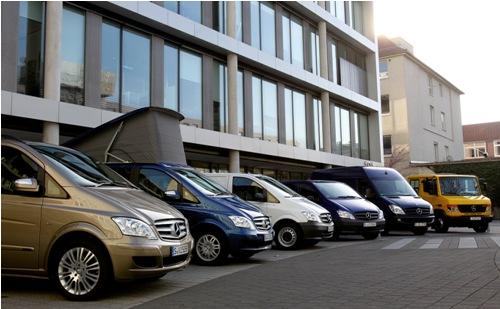 Mercedes-Benz bestelauto gamma