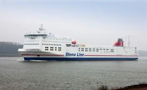 Minister doopt nieuwe Stena Transporter