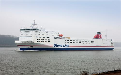 Stena roro ferry transporter