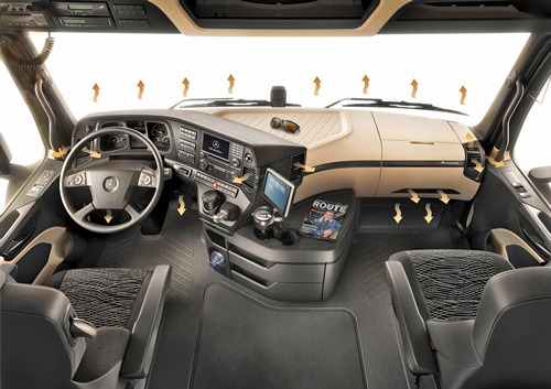 MB Actros 2011 cabine