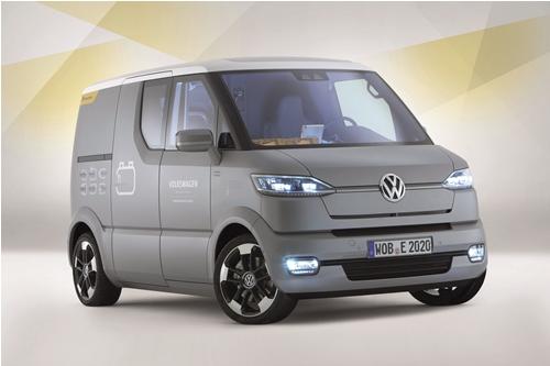 Foto S Volkswagen Bouwt Zelfrijdende Elektrische Bestelauto Ttm Nl