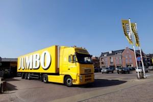 Jumbo staat voor nieuwe logistieke uitdaging
