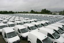 Nederlandse registraties bedrijfsauto's stabiel
