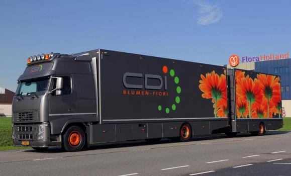 Volvo fh met xxl cabine voor cdi blumen fiori - Een ster in mijn cabine ...