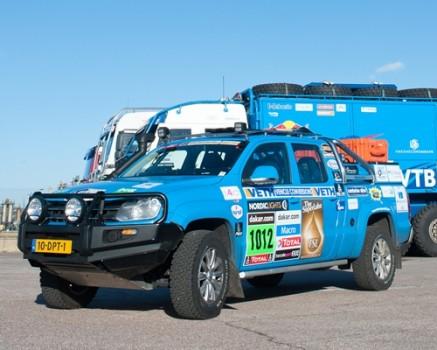 Amarok Dakar Press Team