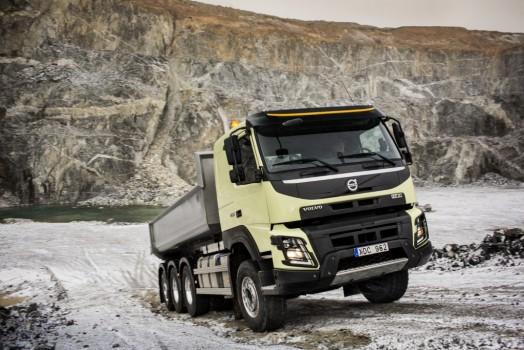Volvo fmx 2013