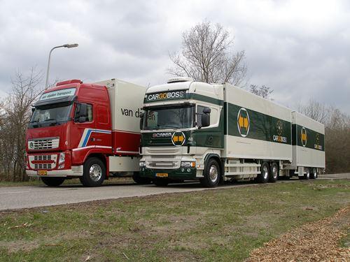 Het wagenpark van Cargoboss / Van Daalen Transport is vernieuwd met ...