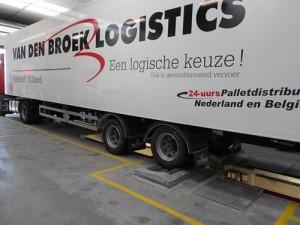 APK- en diagnoseteststraat voor Van den Broek Logistics
