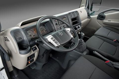 Nissan NT500 interior