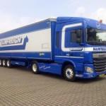 Nieuwe Mainfreight trucks en trailers voor Wim Bosman