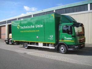 Eerste Euro 6 truck in gebruik genomen door Van Uden