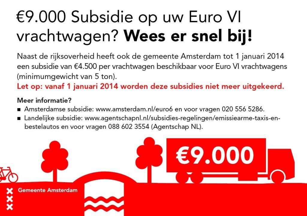 Flyer Subsidie Euro VI