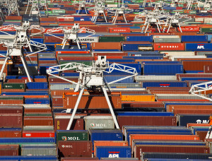 containers Rotterdamse Haven