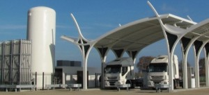 Rolande LNG-tankstation