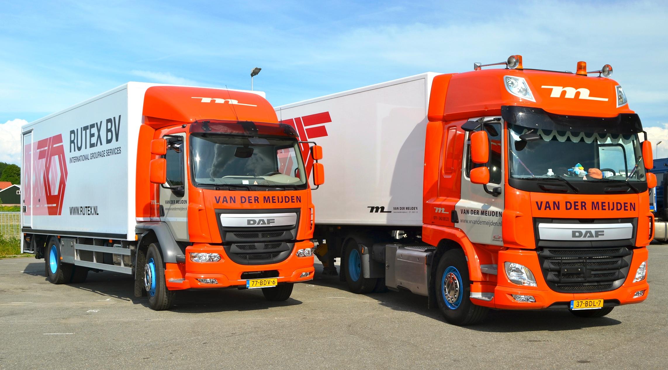 Daf Euro 6 Cf En Lf Voor Van Der Meijden Transport Ttm Nl
