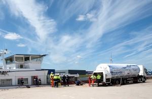 Eerste levering GDF SUEZ LNG aan Danser Group