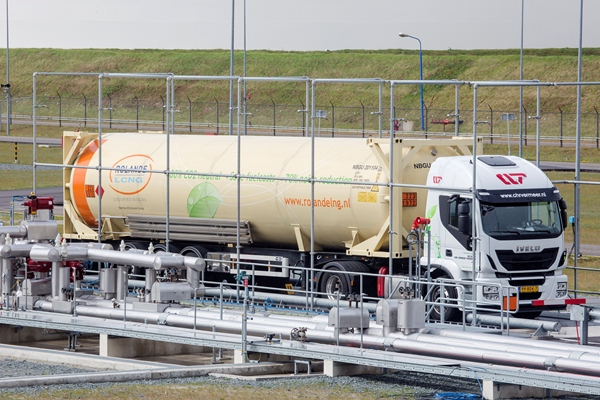 LNG laden GATE Terminal