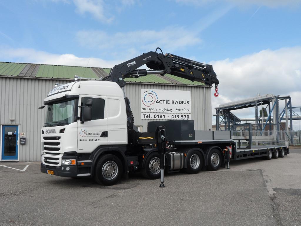 Scania Actie-Radius 2014