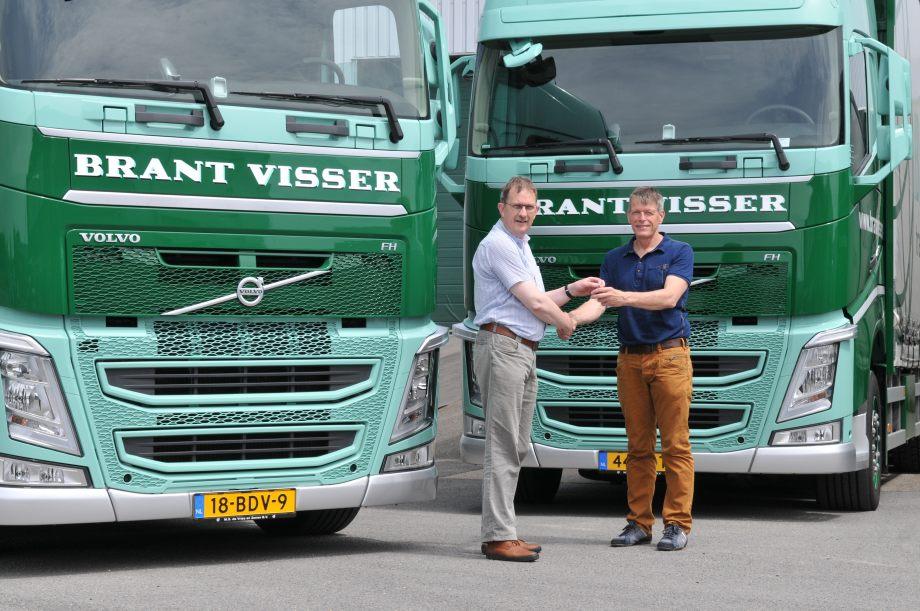 Verrassend Nieuwe Volvo's FH voor Brant Visser • TTM.nl VN-28